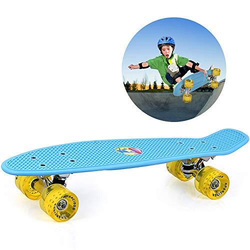 #8. GASACIODS 22 Inch Mini Cruiser Skateboard