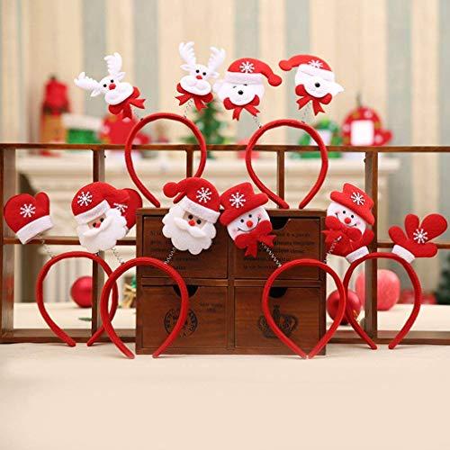 N-K Premium-Qualität Weihnachtsbaum Frauen Mädchen Nettes Stirnband Praktisches Design und langlebig