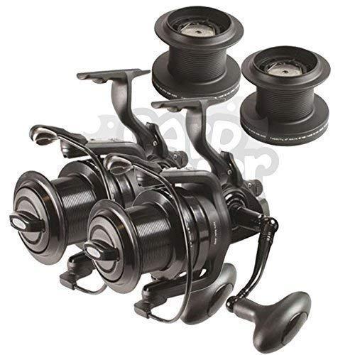 1 x 2 x 3 x NGT Dynamic 9000 10 BB Big Pit Fishing Reels With Carp Runner...