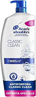 Head & Shoulders Classic Clean Antiforfora Shampoo, 1000 ml