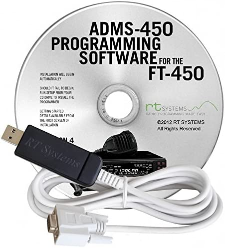 ADMS-450 USB Cable RT Super sale period limited FT-450 Software Large-scale sale Systems