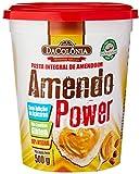 Mantequilla de Maní, sin Azúcares Añadidos Amendo Power DACOLÔNIA - Pasta Integral de Amendoim, sem Adição de Açúcares, 500ml