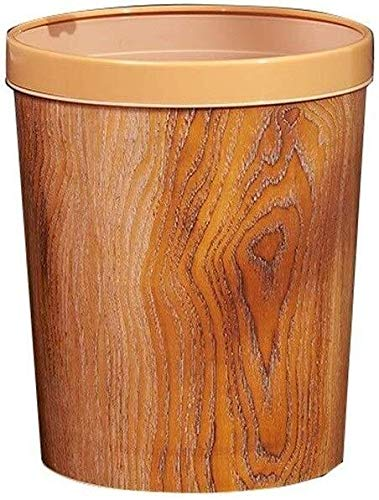 GUYUE Creative-Trash Can, Retro Haushalt Wohnzimmer Trash Can Hotel Schlafzimmer-Raum-Trash Can Dekorative Trash Can (Color : A)