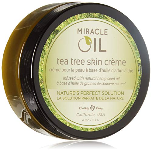 Earthly Body Miracle Oil Tea Tree Crème 4 Ooz