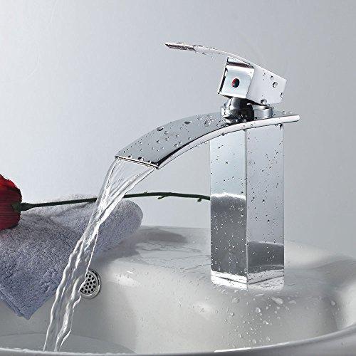 Gago rasined acero inoxidable Aumentar el lavabo woo (sin manguera),Grifo de Cocina de Acero Inoxidable Classic Grifo de Cocina Grifo Monomando Giratorio de Cromo de 360° para Fregadero