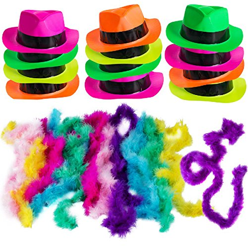 Neon Party Supplies - 80's Style, N…