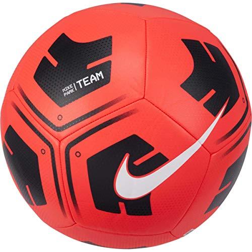 Nike Balón de fútbol Unisex Park, Color carmesí/Negro/Blanco, 3