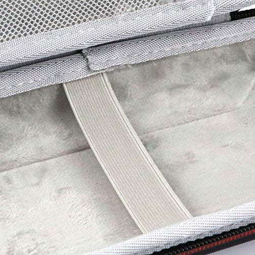 Hard Sturdy Carrying Storage Organizer Case Bag for Texas Instruments TI-84 Plus, TI-84 Plus CE, TI-83 Plus, TI-89 / Casio PRIZM, FX-9750GII / TI-Nspire CX&CX CAS / HP50G Graphing Calculators (Black) Photo #7