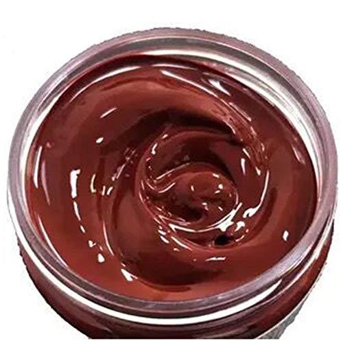 FairOnly Restaurador de tinte de color crema de reparación desgastado, restaurador de colorantes, suministros para asiento de coche, sofá de cuero, color rojo azufaifa