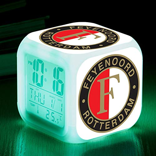 ShiyueNB Breda NAC kleurverandering LED wekker reloj despertador wekker reveil baby nachtlampje klok digitaal