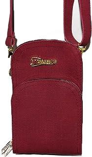 فاشن حقيبة للنساء-احمر - حقائب طويلة تمر بالجسم
