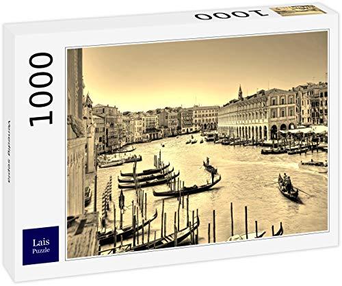 Lais Puzzle Sepia de Venecia 1000 Piezas