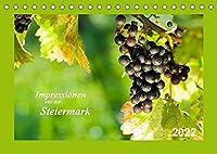 Impressionen aus der Steiermark (Tischkalender 2022 DIN A5 quer): Einblicke in Landschaft und Koestlichkeiten der Steiermark. (Monatskalender, 14 Seiten )