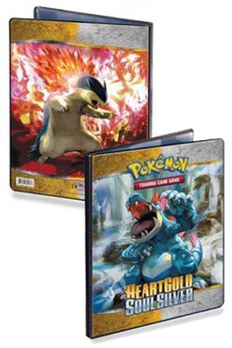 Pokémon Heart oro Soul Silver A4álbum de recortes para tarjetas de 90