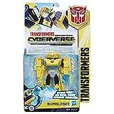 Hasbro- Figura Transformers CYBERVERSE Weapon 25 CM. Mod. SDOS, Multicolor (E1884EU4)