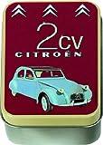 Boite A SAVONS Metal PUB Retro Citroen 2CV France Capote Noire