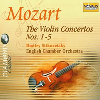 Mozart: The Violin Concertos Nos. 1-5