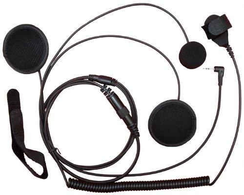 SUNDELY Full Face Close Helmet Motorbike Motorcycle Headset/Earpiece for Cobra Micro-Talk 2 Two Way Radio CX105C PR5060 MT800 1-pin
