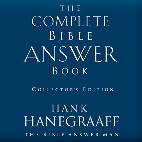 The Complete Bible Answer Book audiobook cover art