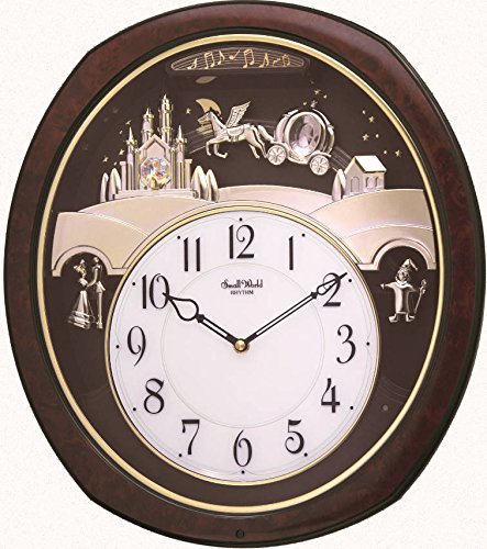 "Rhythm Clocks ""Princess Fantasy"" Musical Motion Clock"