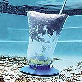 Poolsauger Bodenreiniger, Staubsauger-Schwimmbad Nützlicher Saugkopf mit schneller Reinigung, Bürsten und Schwenkrädern zur Reinigung über der Erde