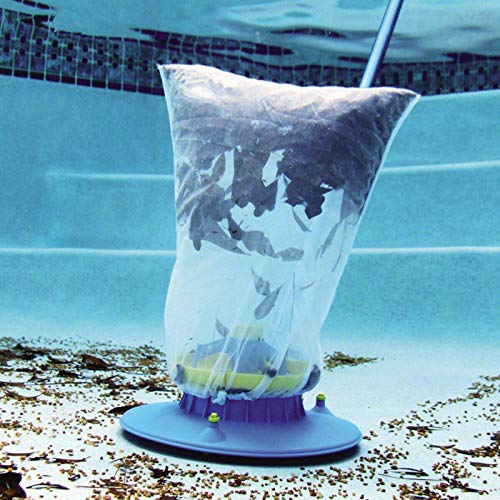 Poolsauger Bodenreiniger, Staubsauger-Schwimmbad Nützlicher Saugkopf mit schneller Reinigung, Bürsten und Schwenkrädern zur Reinigung über der Erde Pool Vacuum Cleaner