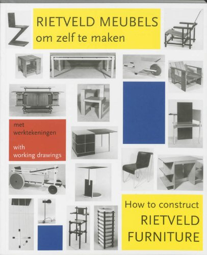 How to construct Rietveld furniture / Rietveld meubles om zelf te maken