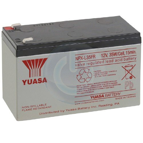 Yuasa NPX-35FRF2 12V 8.5Ah High Rate AGM Battery (Flame Retardant)