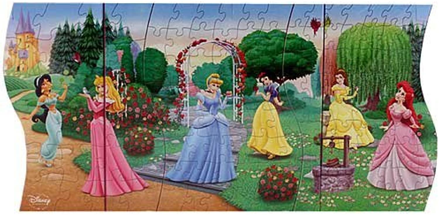 Disney Princess 3 in 1 Panoramic Puzzle by Disney