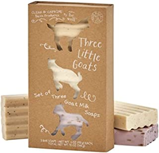 Simply Bee Well Three Little Goats Goat Milk Soap Set of 3