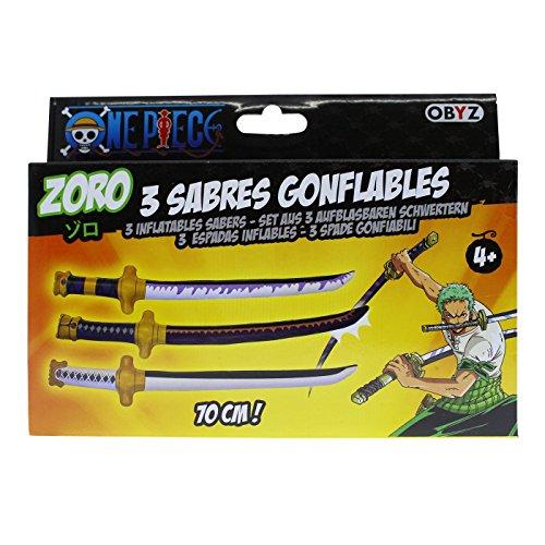 One Piece Cosplay Lorenor Zorro aufblasbare Schwerter