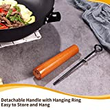 Zoom IMG-1 padella wok con coperchio pentola