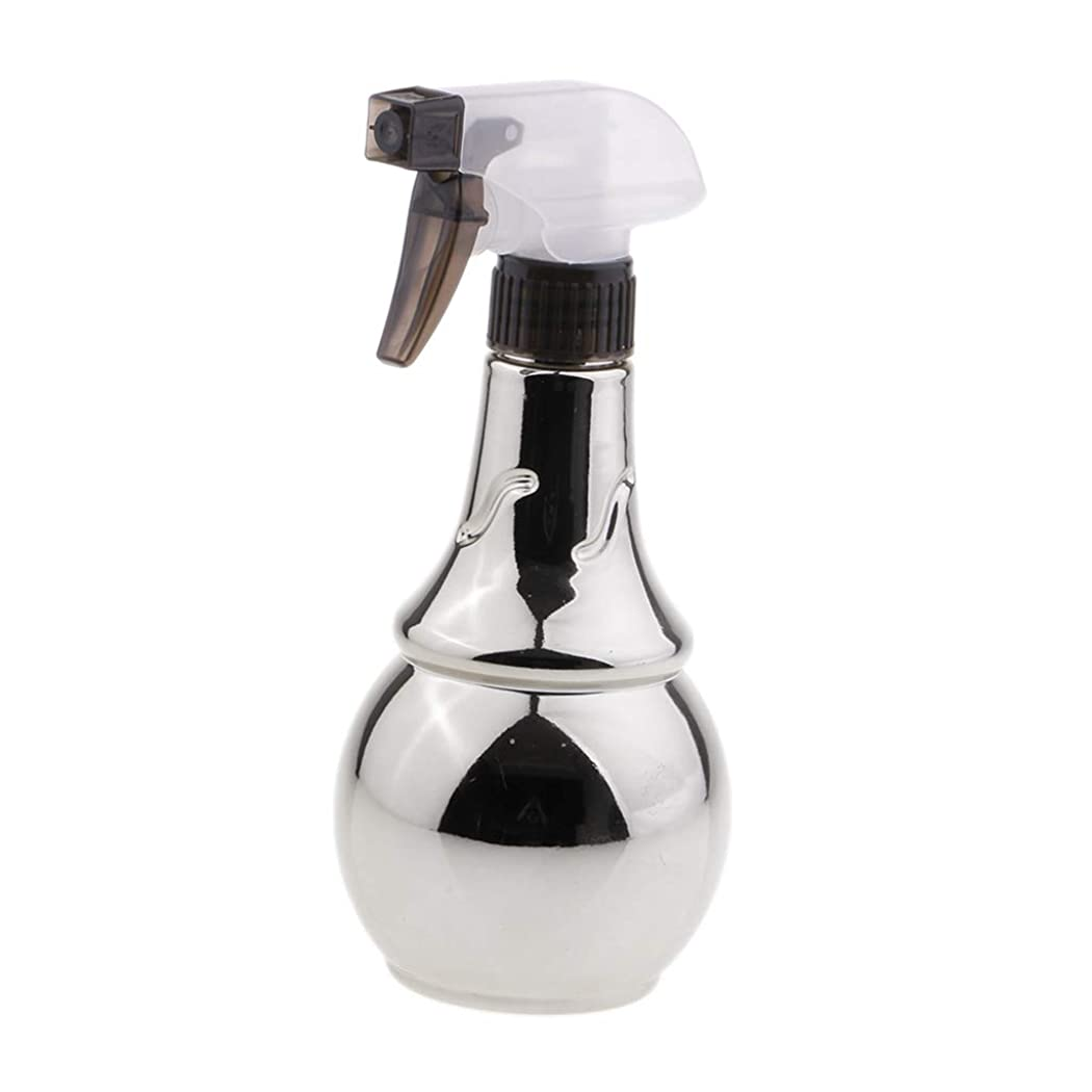 受動的子犬罪人B Baosity スプレーボトル ヘアサロン 水スプレー トリガーボトル 美容師 多目的 家庭用 2色選べ - 銀