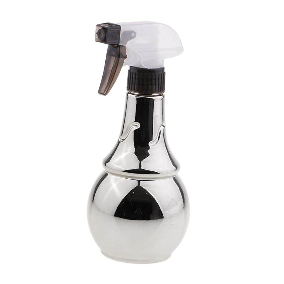 専ら色合い居眠りするB Baosity スプレーボトル ヘアサロン 水スプレー トリガーボトル 美容師 多目的 家庭用 2色選べ - 銀