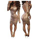 Femmes Robe Vintage Élastique Robe Crayon Manches Courte Mince Digne Bodycon Robe Femmes Vintage Lace Bodycon Pencil Soirée Robe Patchwork GongzhuMM (S, OR)
