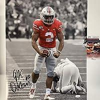 Autographed/Signed JK J.K. Dobbins Ohio State Buckeyes 16x20 College Football Photo JSA COA #2