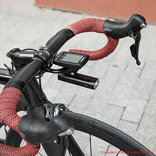 aolongwl Faro de Bicicleta Faro de Bicicleta Ligera con Soporte de ...