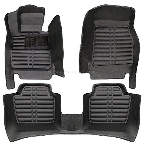 fussmattenprofi.com Tapis de Sol Voiture 3D Premium sur Mesure Adapté pour BMW 3 (E90-E91) 2005-2013