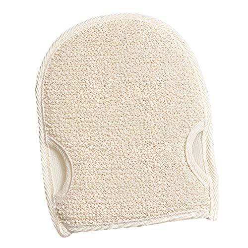 dailymall Gant de Toilette Exfoliant en Coton et Lin Convient à Tous Les Types de Peau