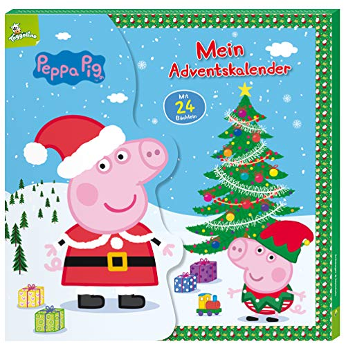 Peppa Pig Mein Adventskalender: Mit 24 Büchlein in Kalender-Box