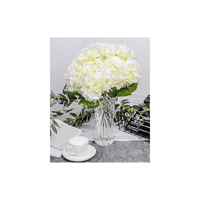 silk flower arrangements lushidi artificial silk flower 5 heads cherry blossom bouquet for home wedding decor