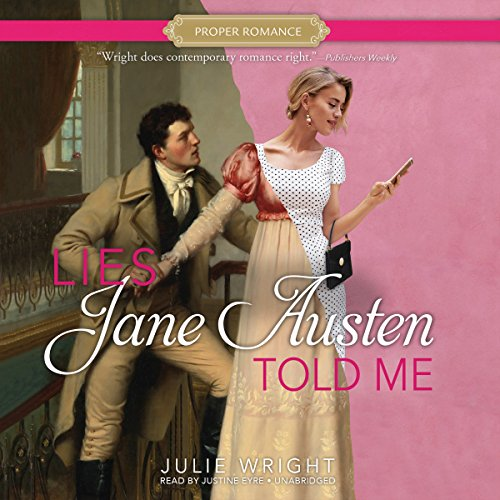 Couverture de Lies Jane Austen Told Me