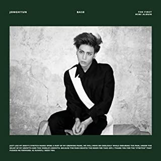 SHINee Jonghyun [BASE] 1st Mini Album CD (or Wine Green Jacket Cover) + a Photocard
