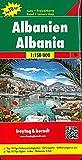 Albanien, Autokarte 1:150.000, Top 10 Tips: Toeristische wegenkaart 1:150 000
