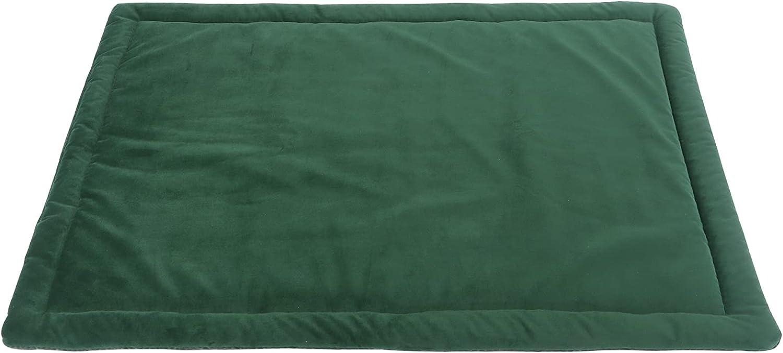 IEUUMLER Colchón Grueso para Perros, Resistente al Agua, para Perros y Gatos Pequeños, Medianos y Grandes FC004 (102*69cm, Green)