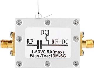 RF Bias Tee, 1 Pcs 10MHz-6GHz Bias Tee 10MHz-6GHz Broadband Radio Frequency Microwave Coaxial Bias electrical connectors B...