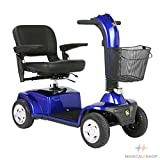 Golden Companion - Full Size 4 Wheel Scooter - Blue