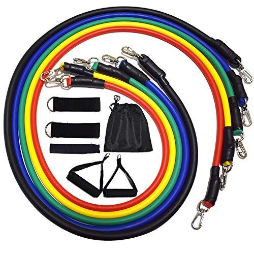 geen merk weerstand banden mannen weerstand band trek riem elastisch touw borst spier training fitnessapparatuur thuis trek touw pak