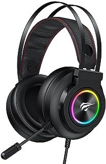 Fone de ouvido Havit Gamenote H654d RGB Super Bass GAMING para PC / PS4 / Xbox One/Mobile