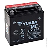 MIM Distribution Batería Yuasa (YTX14-BS) Suzuki AN Burgman Executive 650 2014 para Suzuki-Burgman AN 650 Executive desde 2014 hasta 2014